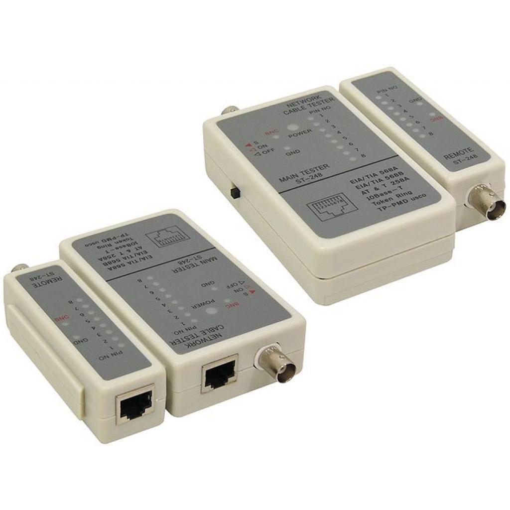 Тестер кабельный RJ-45, RG58 Cablexpert (NCT-1)