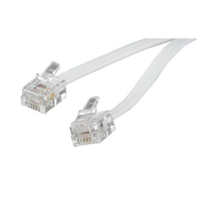 Патч-корд Cablexpert телефонный 3м RJ12 (6P4C) (TC6P4C-3M)