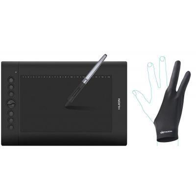 Графический планшет Huion H610Pro V2 (H610PROV2)