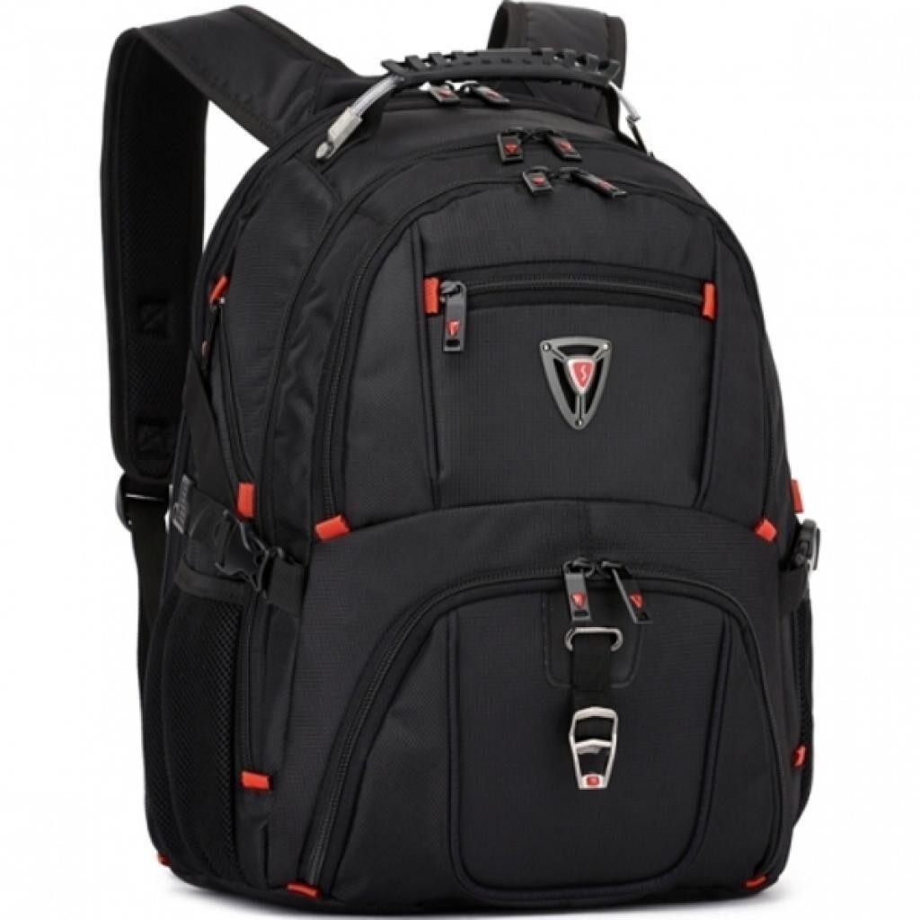 Рюкзак для ноутбука Continent 16'' BP-301 BK (BP-301BK)