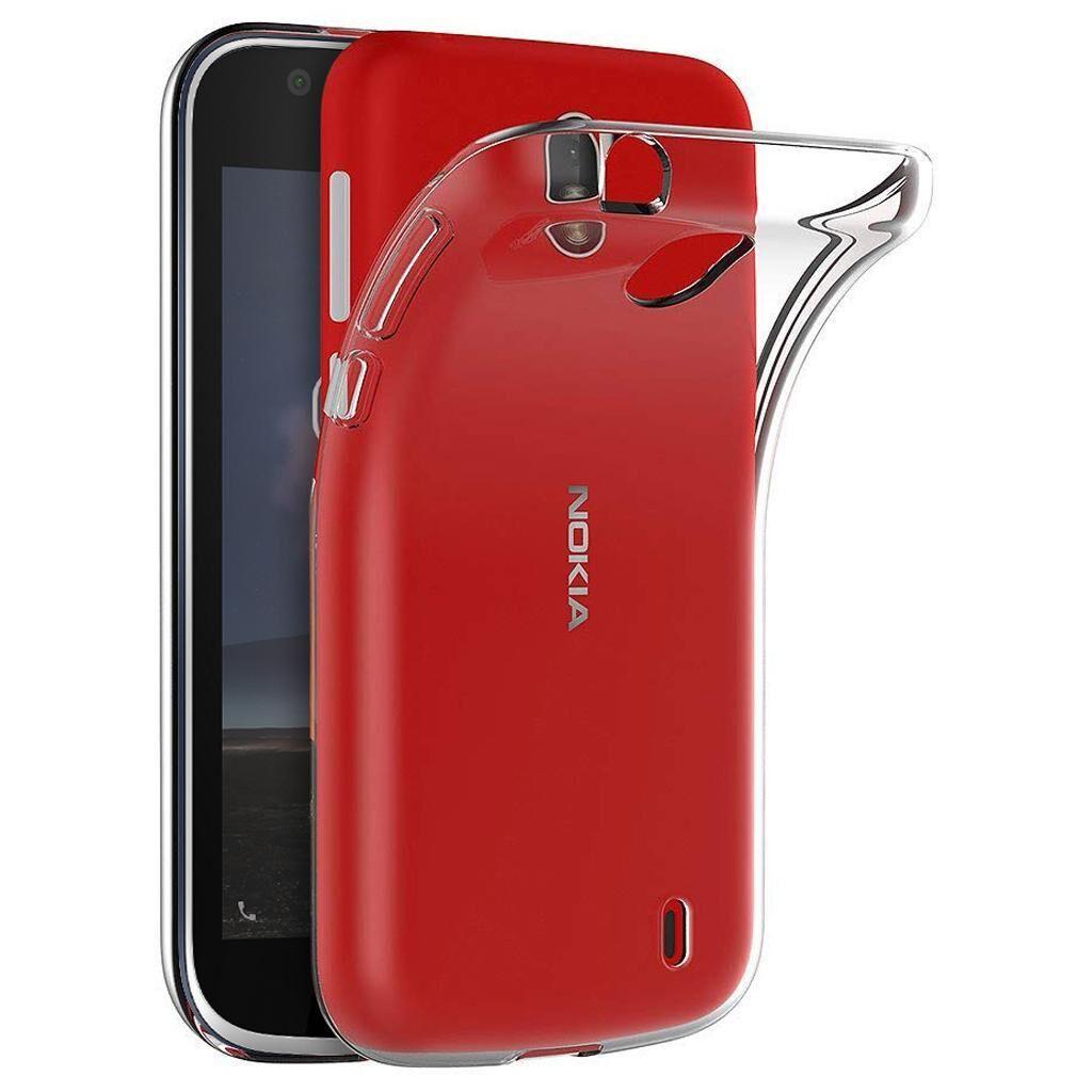 Чехол для моб. телефона Laudtec для Nokia 1 Clear tpu (Transperent) (LC-N1T)