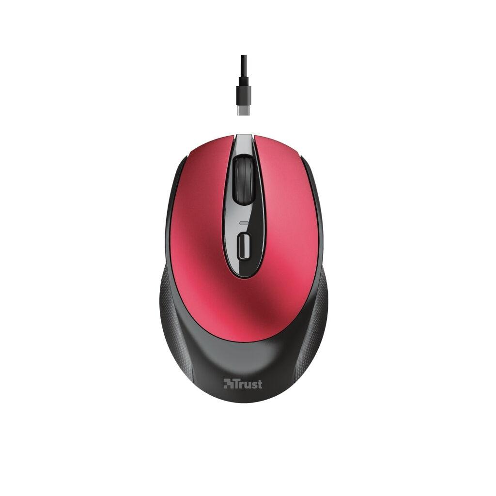 Мышка Trust Zaya Rechargeable Wireless Red (24019)
