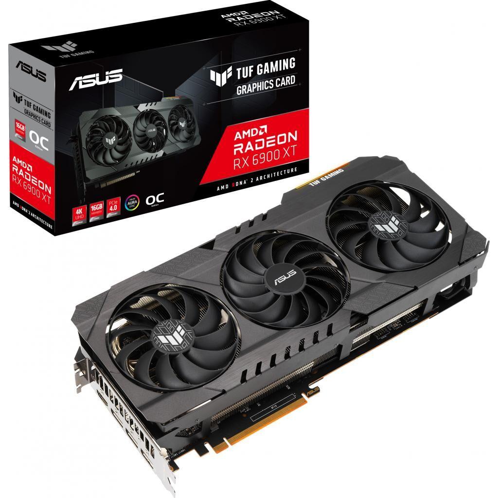 Видеокарта ASUS Radeon RX 6900 XT 16Gb TUF OC GAMING (TUF-RX6900XT-O16G-GAMING)