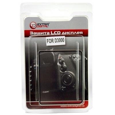 Защита экрана EXTRADIGITAL Защита экрана Nikon D3000 (LCD00ED0008)