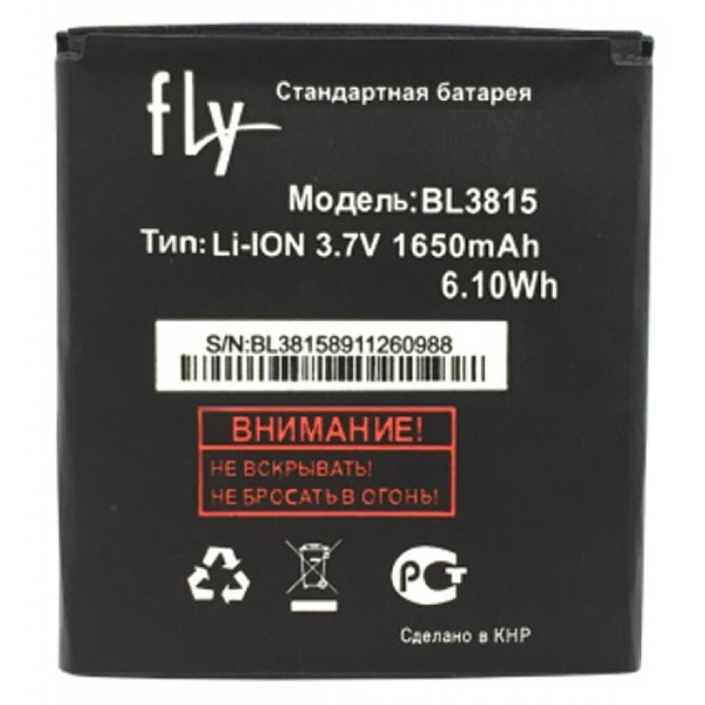 Аккумуляторная батарея для телефона Fly for BL3815 (IQ4407 / 41662)