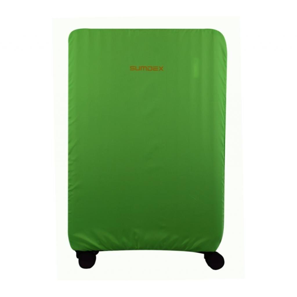 Чехол для чемодана SUMDEX маленький салатовый М (ДХ.01.Н.22.41.989)