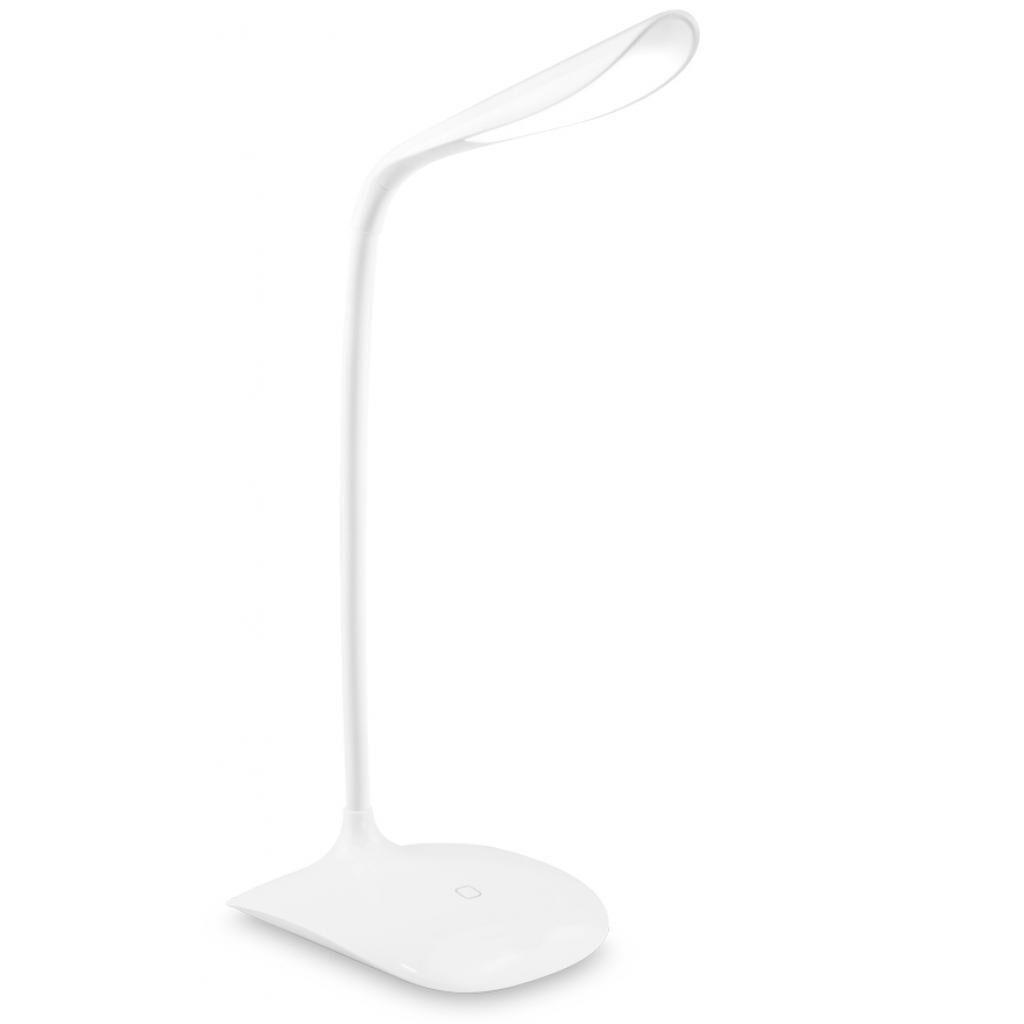 Настольная лампа ColorWay LED Portable & Flexible with built-in accumulator (CW-DL06FPB-W)