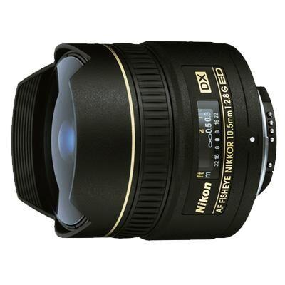 Объектив Nikon Nikkor AF 10.5 mm f/2.8G IF-ED DX FISHEYE (JAA629DA)
