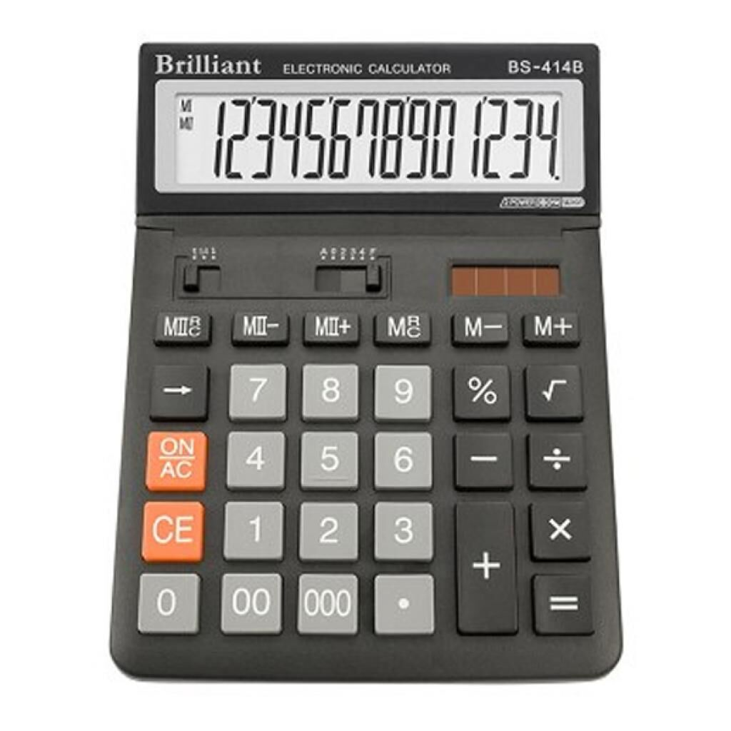 Калькулятор Brilliant BS-414