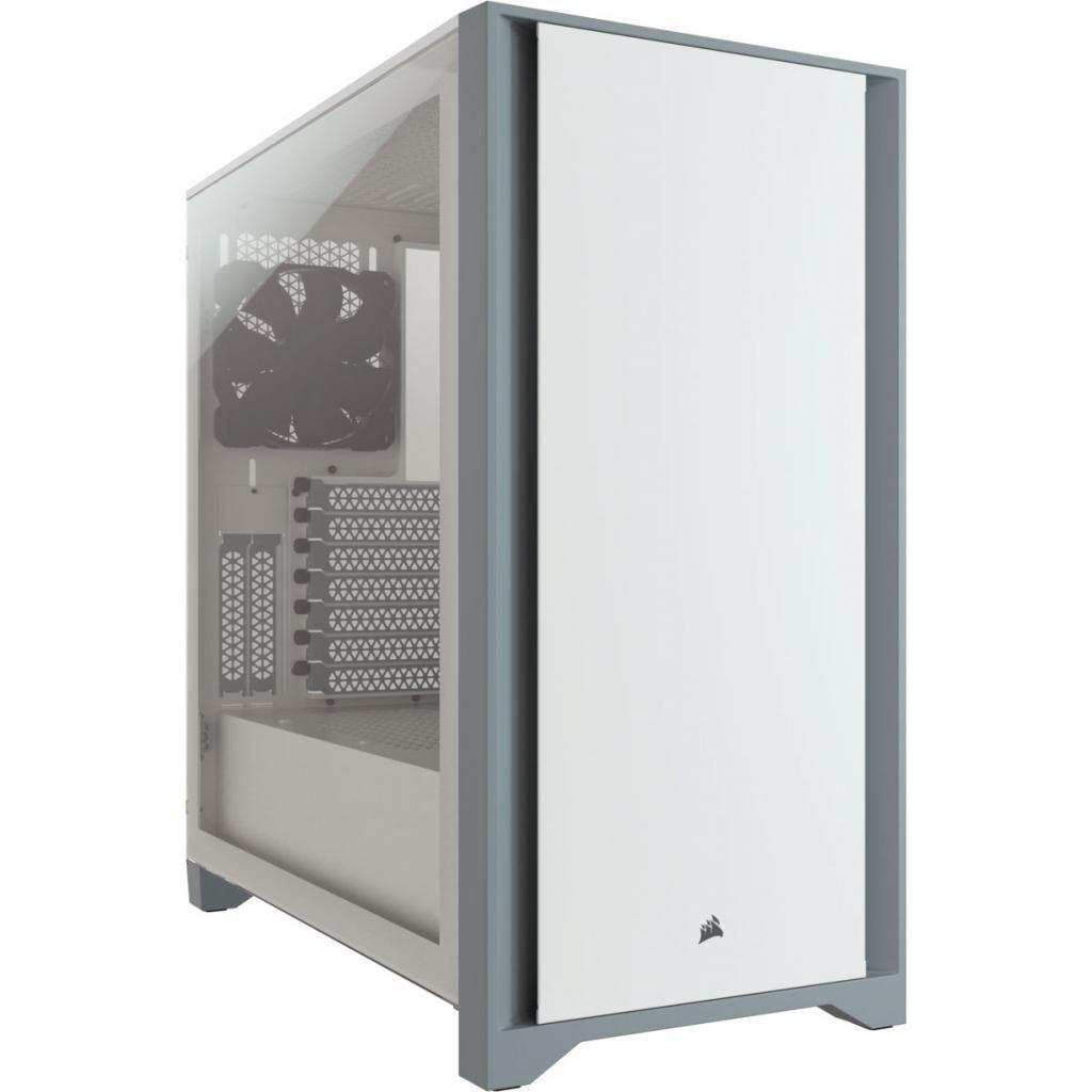 Корпус CORSAIR 4000D Tempered Glass White (CC-9011199-WW)