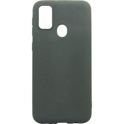 Чехол для моб. телефона DENGOS Carbon Samsung Galaxy M21, grey (DG-TPU-CRBN-61) (DG-TPU-CRBN-61)