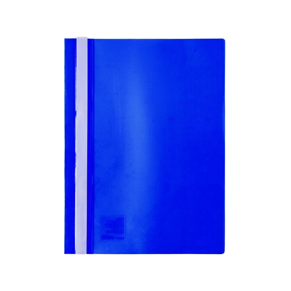 Папка-скоросшиватель Axent А4 120/150 мкм Синяя (1317-02-A)