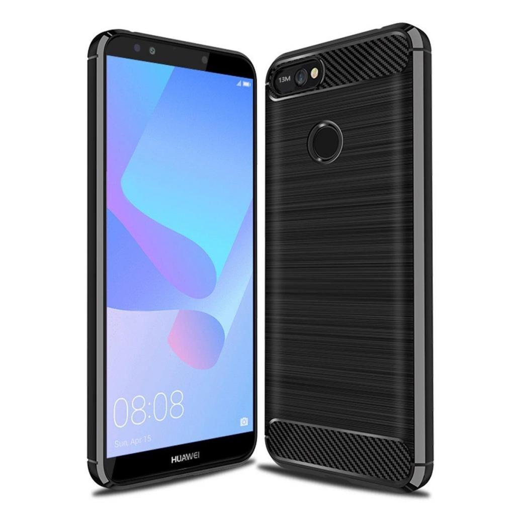 Чехол для моб. телефона Laudtec для HuaweiY6Prime 2018 Carbon Fiber (Black) (LT-HY6PM18)