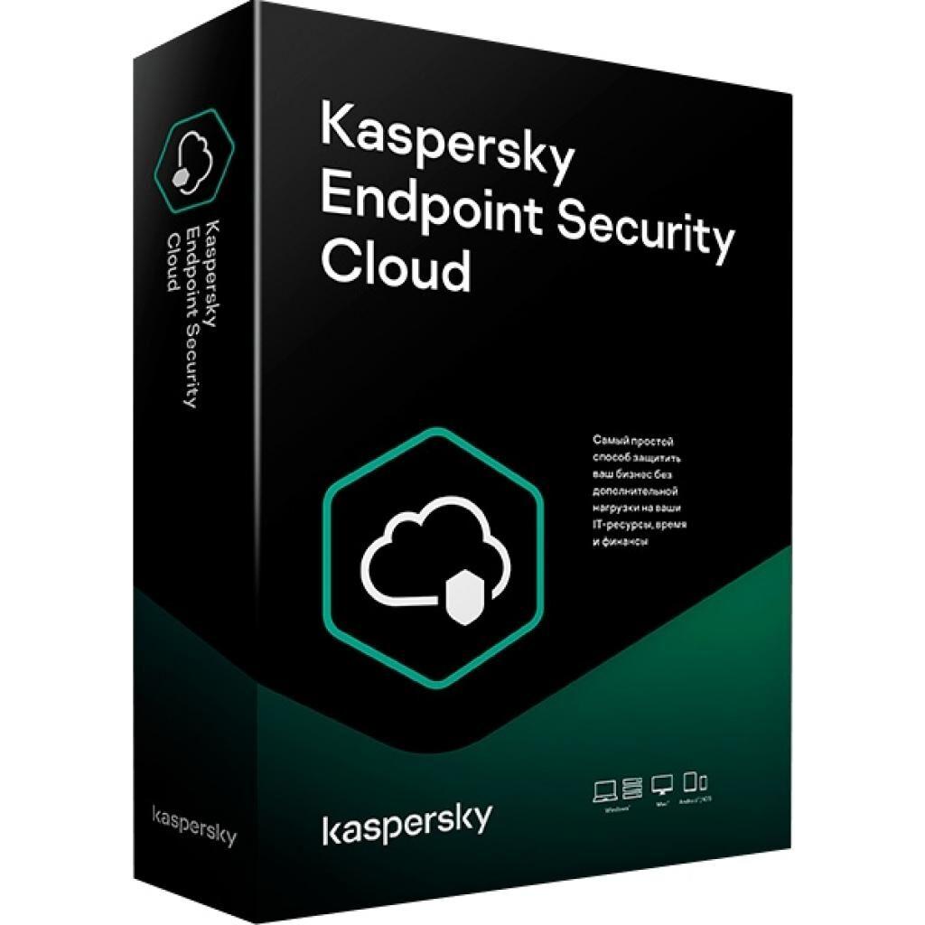 Антивирус Kaspersky Endpoint Security Cloud, 100-149 PC/FS; 200-298 Mob dev. 1 y (KL4742OARFS)