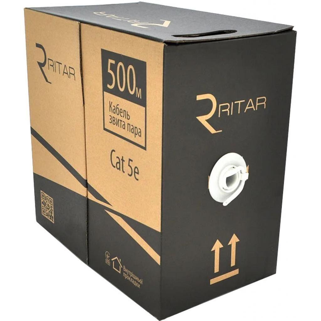 Кабель сетевой Ritar UTP 500м КВП (2*2*0,50) mark 2Р 24AWG [СCA] (05059)