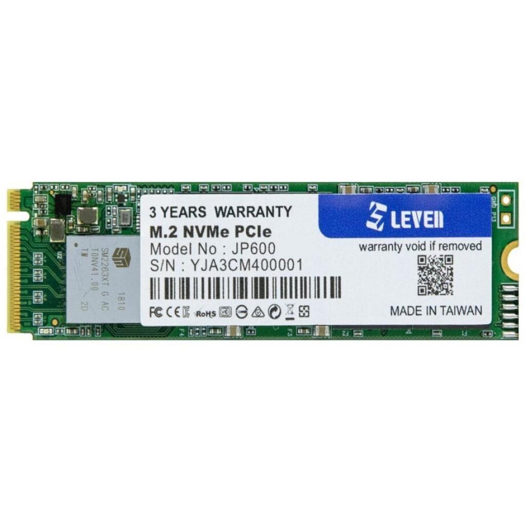 Накопитель SSD M.2 2280 256GB LEVEN (JP600-256GB)
