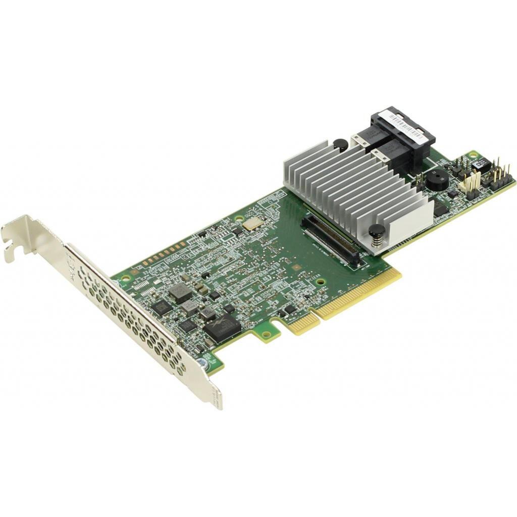 Контроллер RAID INTEL SAS/SATA, LSI3108 RAID 0,1,5,10,50,60 add-in card with x8 PC (RS3DC080)