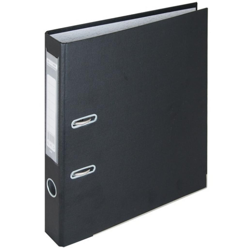 Папка - регистратор Buromax А4, 50мм, JOBMAX PP, black, built-up (BM.3012-01c)