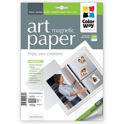 Бумага ColorWay Letter (216x279mm) ART magnetic, matte (PMA650005MLT)