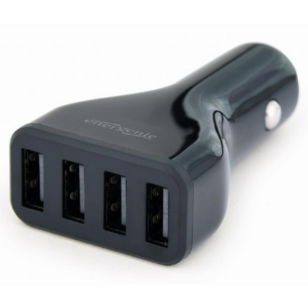 Зарядное устройство EnerGenie USB 4.8A (EG-U4C4A-CAR-01)