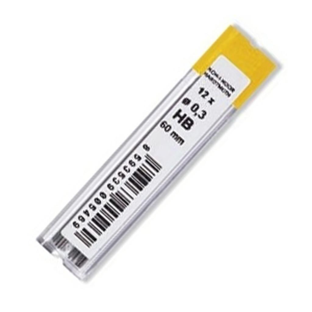 Грифель для механического карандаша Koh-i-Noor 4132.HB, 0.3 мм, 12шт (41320HB006PK)