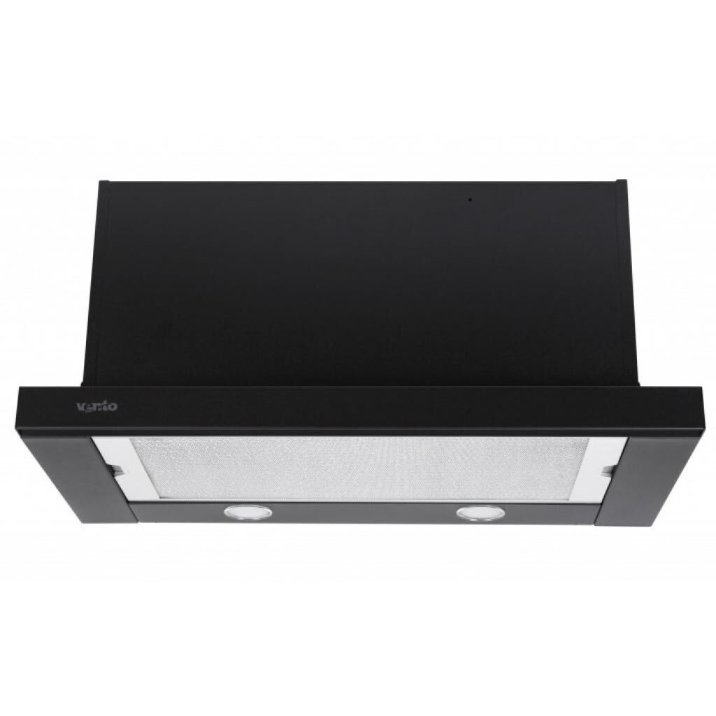 Вытяжка кухонная VENTOLUX GARDA 60 BK (1300) SMD LED