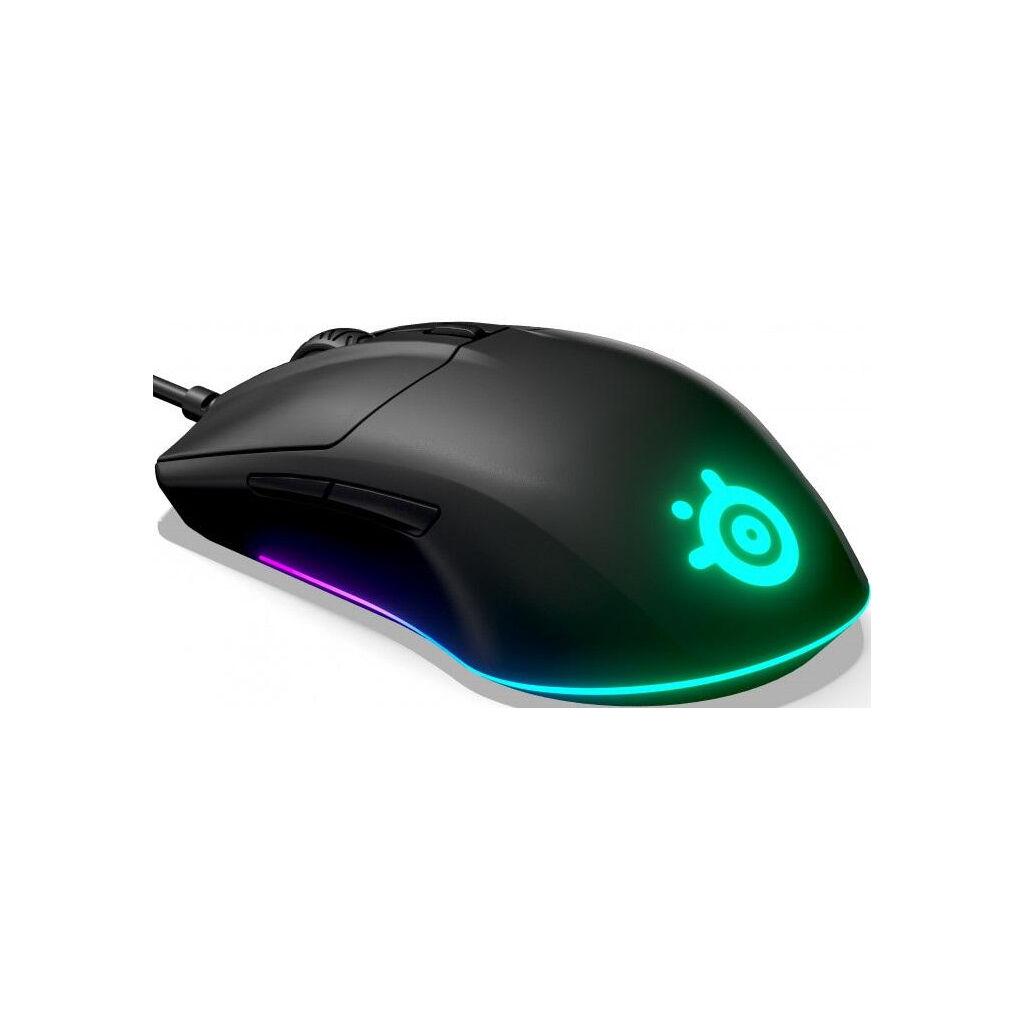 Мышка SteelSeries Rival 3 Black (62513)