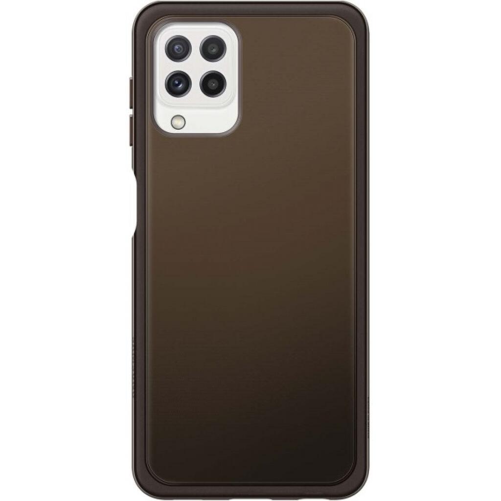 Чехол для моб. телефона Samsung Soft Clear Cover Galaxy A22 (A225) Black (EF-QA225TBEGRU)