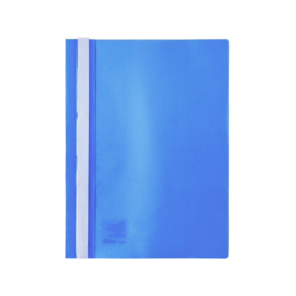 Папка-скоросшиватель Axent А4 120/150 мкм Голубая (1317-22-A)