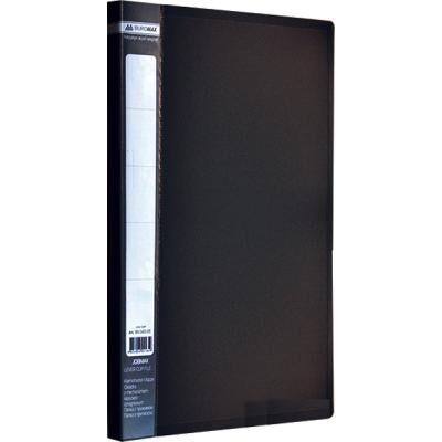 Папка с зажимом Buromax А4 JOBMAX, black (BM.3401-01)
