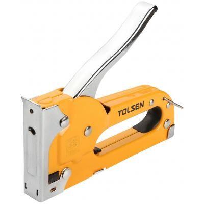 Степлер строительный Tolsen металлический под скобу 4-8 мм №53 (43022)