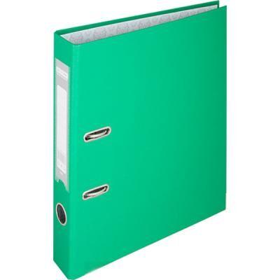 Папка - регистратор Buromax А4, 50мм, JOBMAX PP, green, built-up (BM.3012-04c)