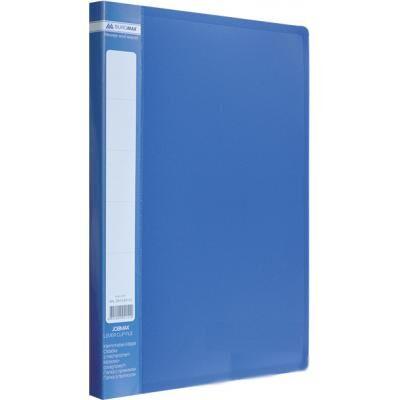 Папка с зажимом Buromax А4 JOBMAX, blue (BM.3401-02)