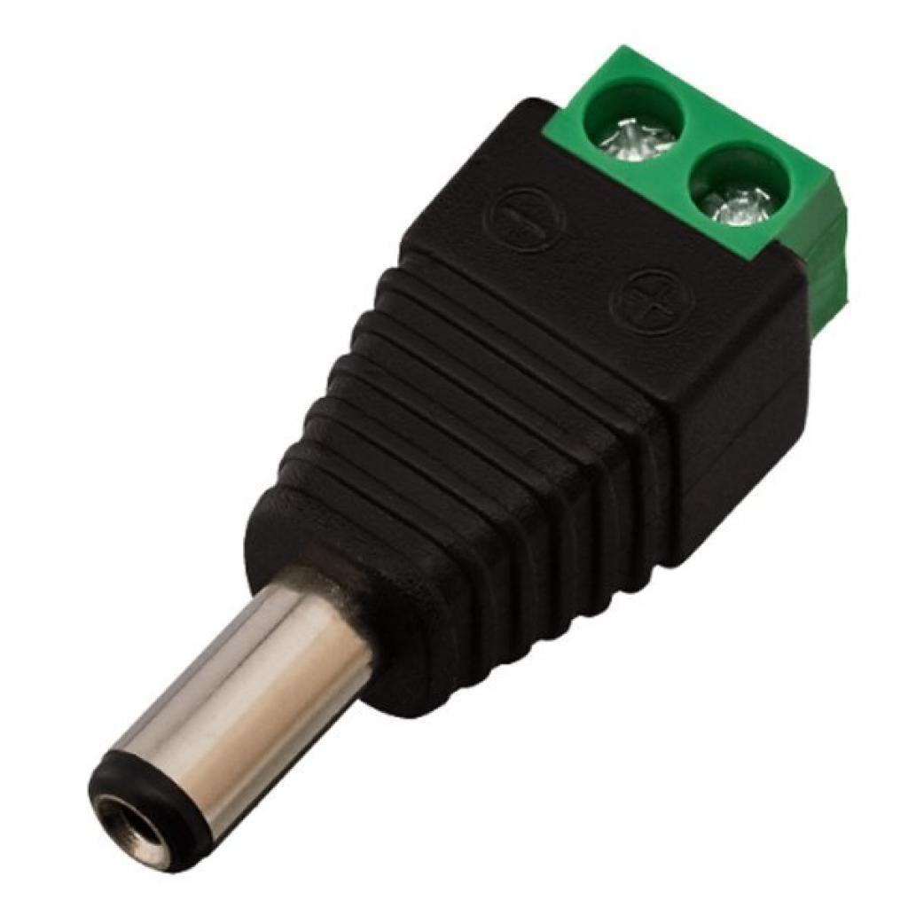 Коннектор GreenVision GV-DC male 100шт/уп. (3587)