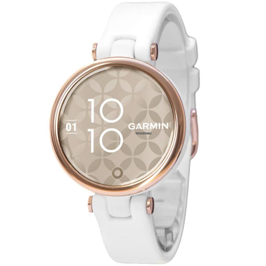 Смарт-часы Garmin Lily, CreamGold, White, Silicone (010-02384-10)