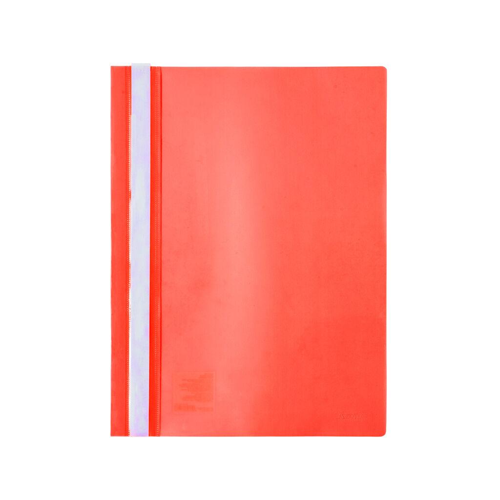 Папка-скоросшиватель Axent А4 120/150 мкм Красная (1317-24-A)