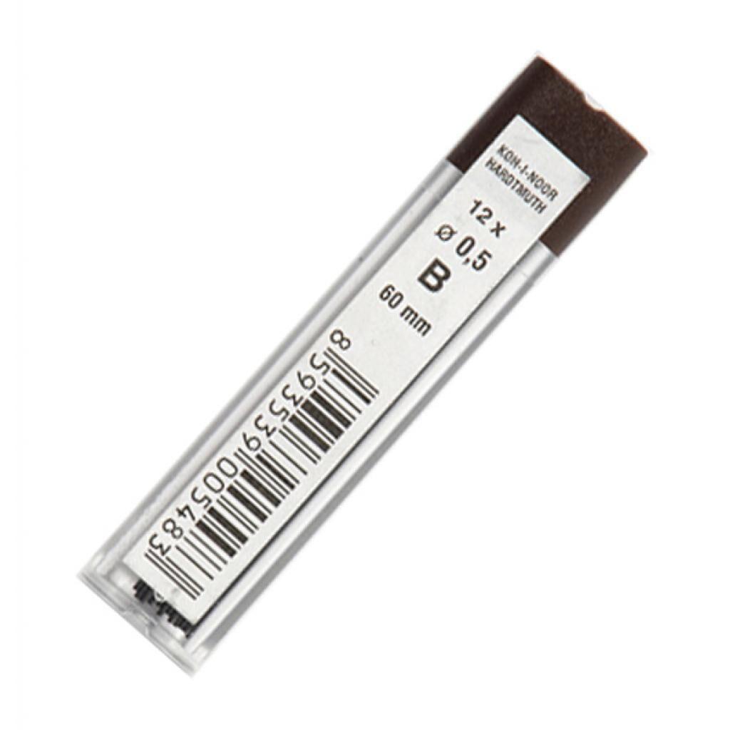 Грифель для механического карандаша Koh-i-Noor 4152.B, 0.5 мм, 12шт (415200B005PK)