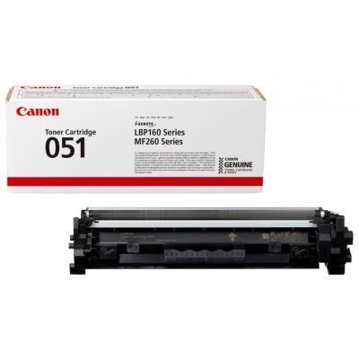 Картридж Canon 051 Black 1.7K (2168C002)