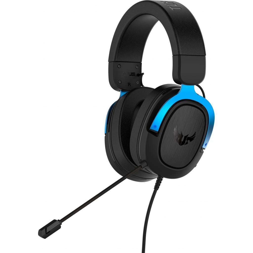 Наушники ASUS TUF Gaming H3 Blue (90YH029B-B1UA00)