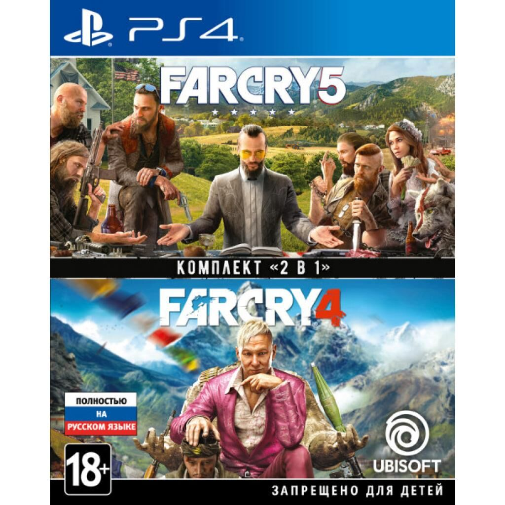 Игра SONY Комплект «Far Cry 4» + «Far Cry 5» [PS4, Russian version] (8113476)