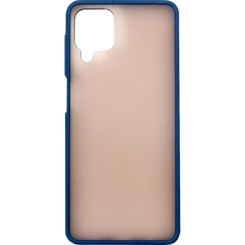 Чехол для моб. телефона Dengos Matt Samsung Galaxy A12 (A125), blue (DG-TPU-MATT-63)
