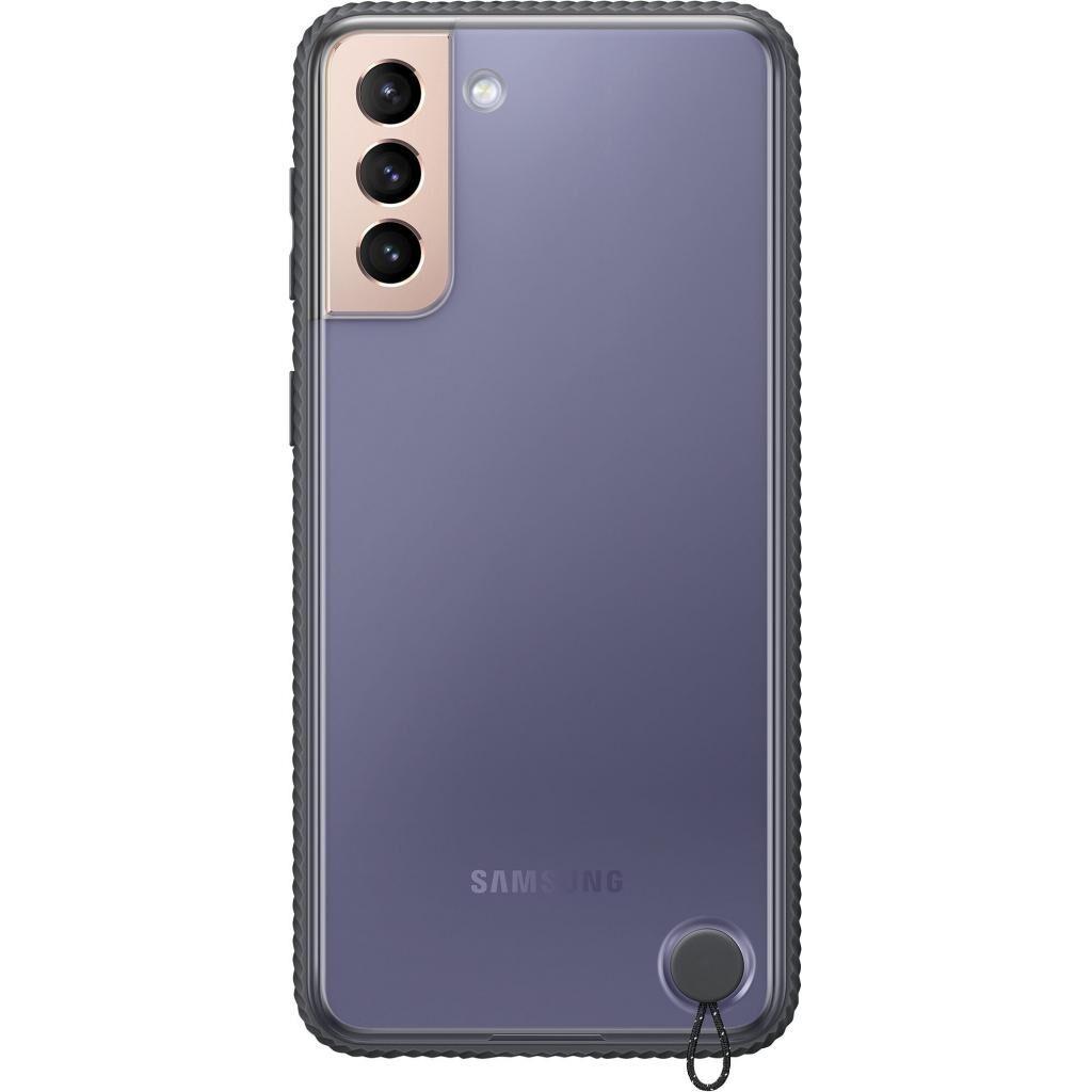 Чехол для моб. телефона Samsung Clear Protective Cover Samsung Galaxy S21+ Black (EF-GG996CBEGRU)