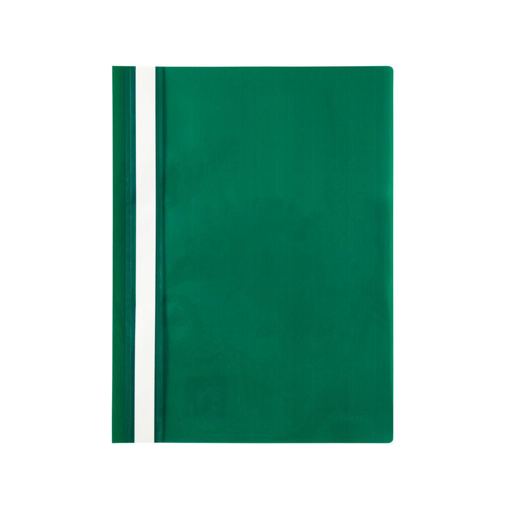 Папка-скоросшиватель Axent А4 120/150 мкм Зеленая (1317-25-A)
