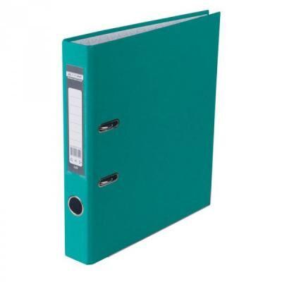 Папка - регистратор Buromax А4, 50мм, JOBMAX PP, turquoise, built-up (BM.3012-06c)