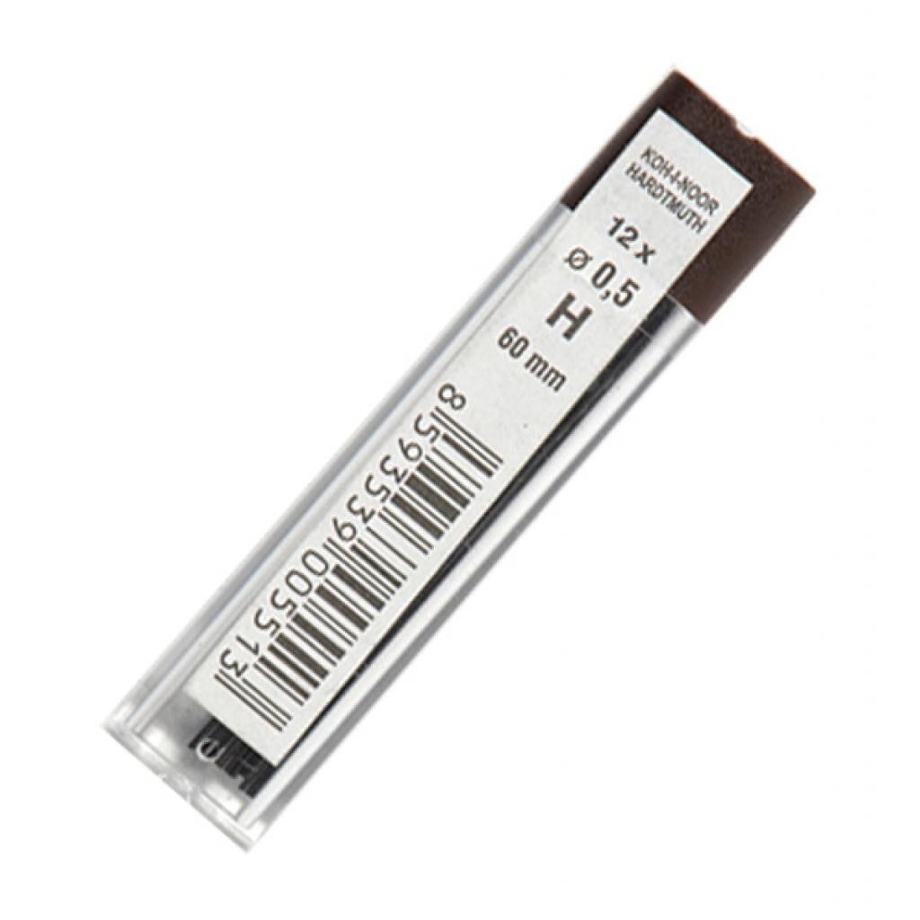 Грифель для механического карандаша Koh-i-Noor 4152.H, 0.5 мм, 12шт (415200H005PK)