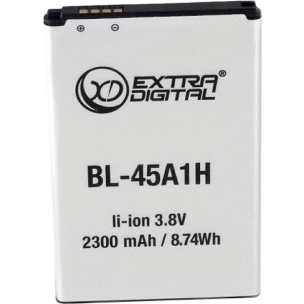 Аккумуляторная батарея для телефона EXTRADIGITAL LG K10 (BL-45A1H) 2300 mAh (BML6430)