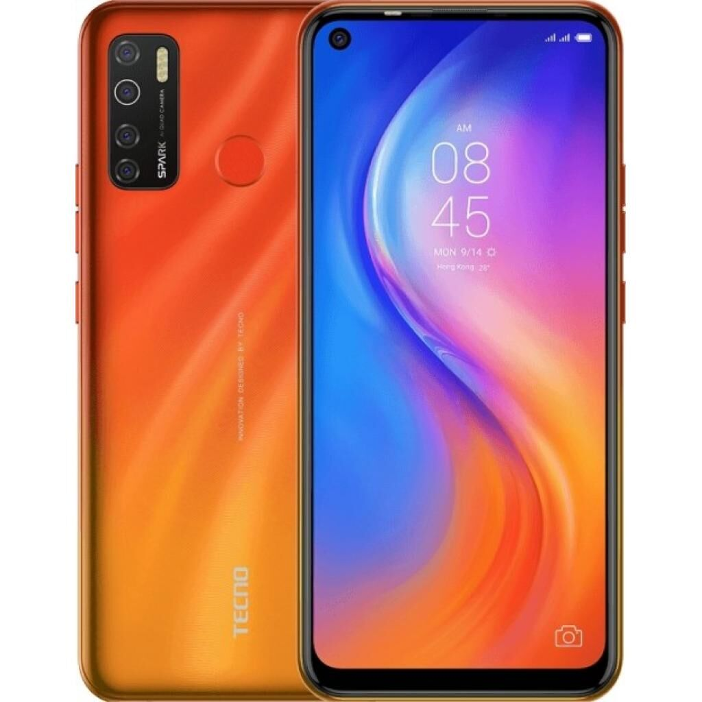 Мобильный телефон TECNO KD7 (Spark 5 Pro 4/64Gb) Spark Orange (4895180756054)