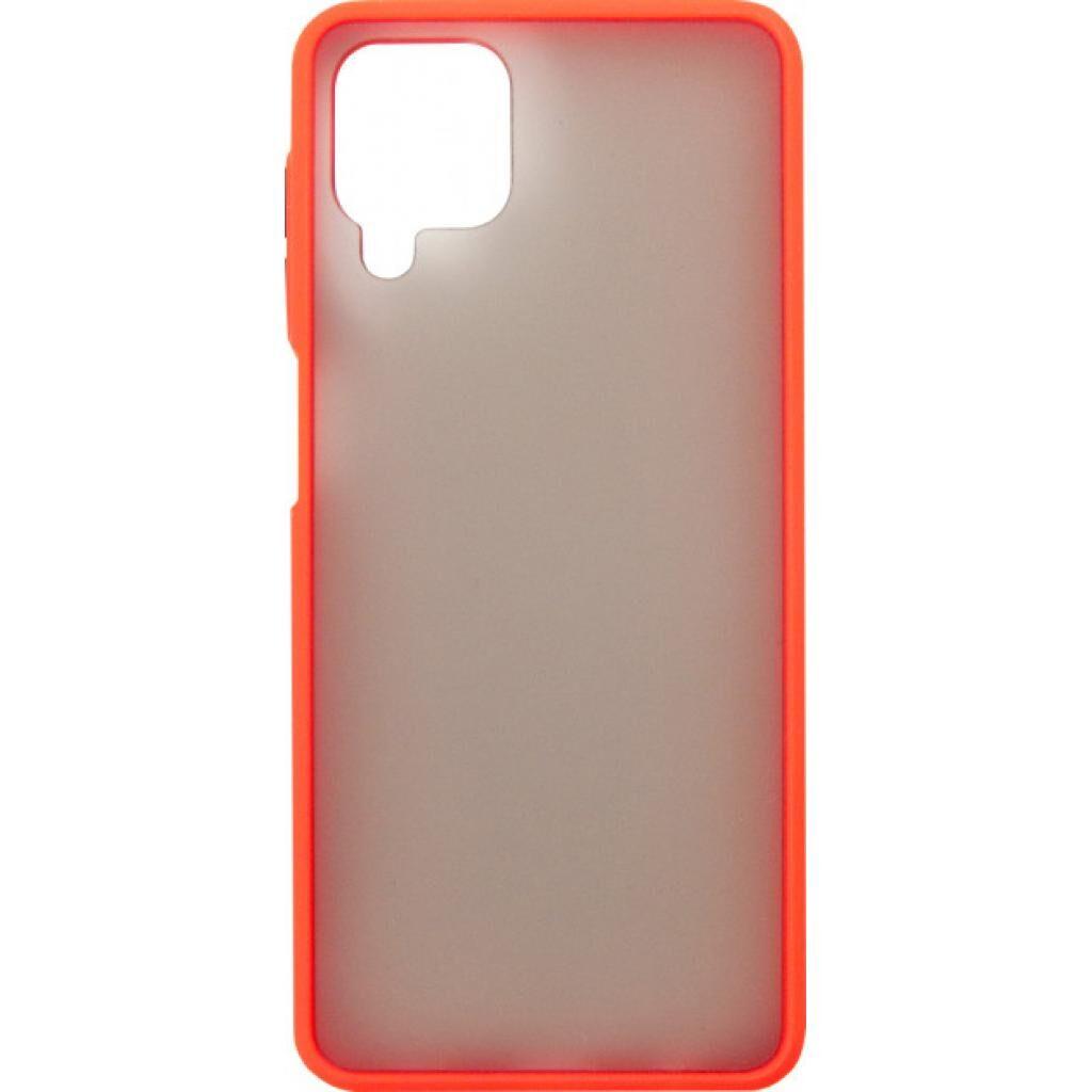 Чехол для моб. телефона DENGOS Matt Samsung Galaxy A12 (A125), red (DG-TPU-MATT-64)