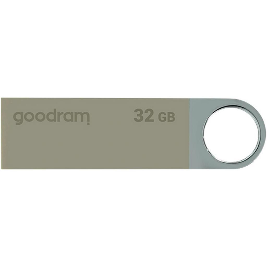 USB флеш накопитель GOODRAM 32GB UUN2 Valentine Silver USB 2.0 (UUN2-0320S0R11-V)