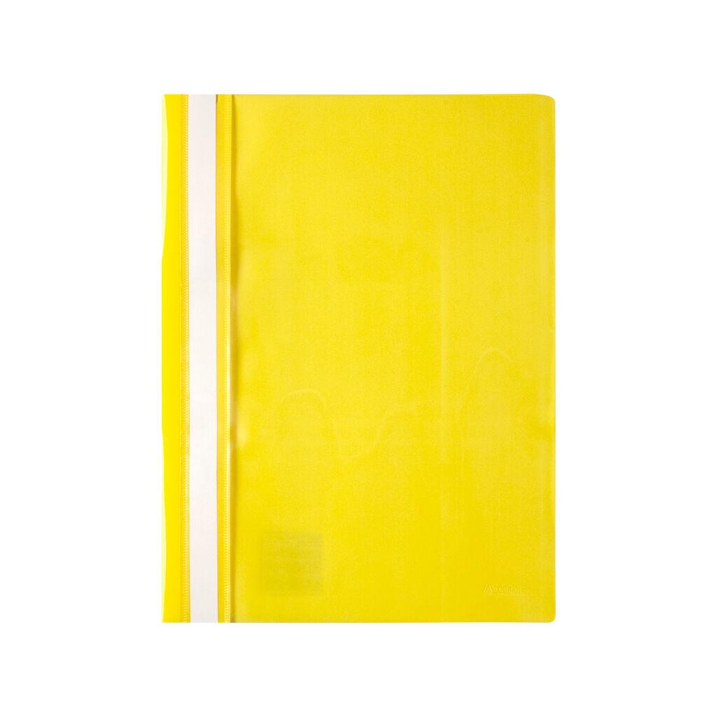 Папка-скоросшиватель Axent А4 120/150 мкм Желтая (1317-26-A)